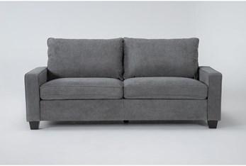 "Reid Grey 80"" Sofa"