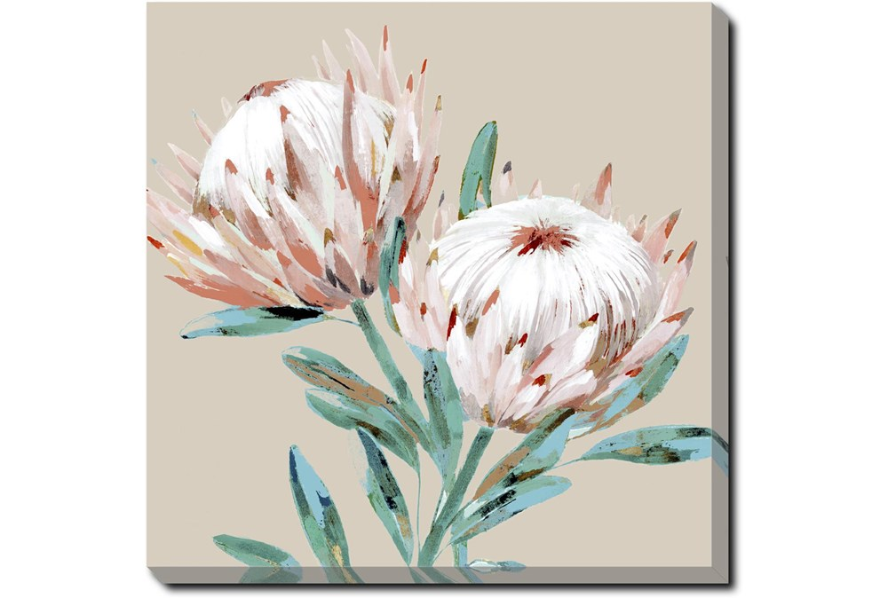 Picture-Big Blooms Gallery Wrap Canvas 36X36