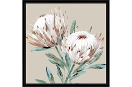 Picture-Big Blooms With Black Frame 26X26