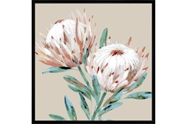 Picture-Big Blooms With Black Frame 38X38