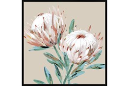 Picture-Big Blooms With Black Frame 47X47