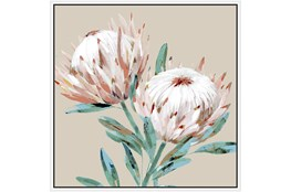 Picture-Big Blooms With White Frame 47X47