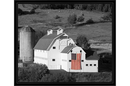 Picture-Proud To Be An American With Black Frame 26X22 - Main