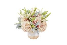 "27"" Artificial Multi Color Flowers In Ceramic Pot"