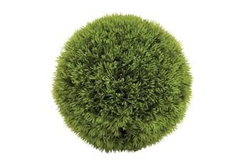 "9"" Green Plastic Artificial Foliage"
