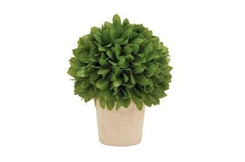 "10"" Green Leaf Artificial Plant"