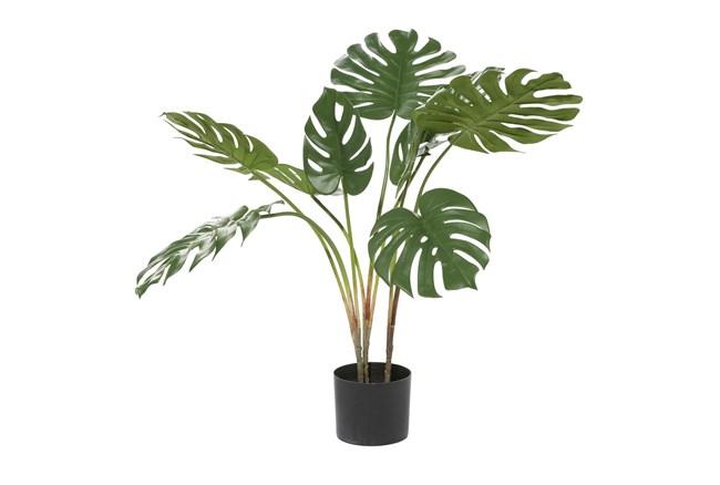"29"" Artificial Monstera Leaf Tree - 360"