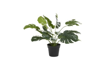 "16"" Tropical Green Artificial Plant"