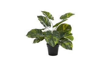 "20"" Green Artificial Potted Plant"