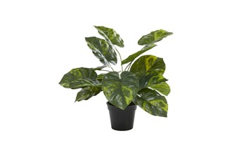 """20"""" Green Artificial Potted Plant"""