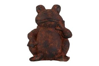 17Inch Rust Magnesium Oxide Garden Sculpture