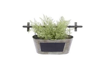 11 Inch Grey Iron Planter