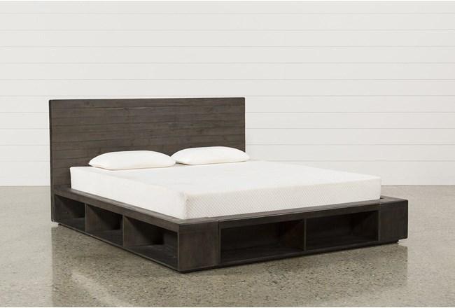 Dylan II Queen Platform Bed - 360