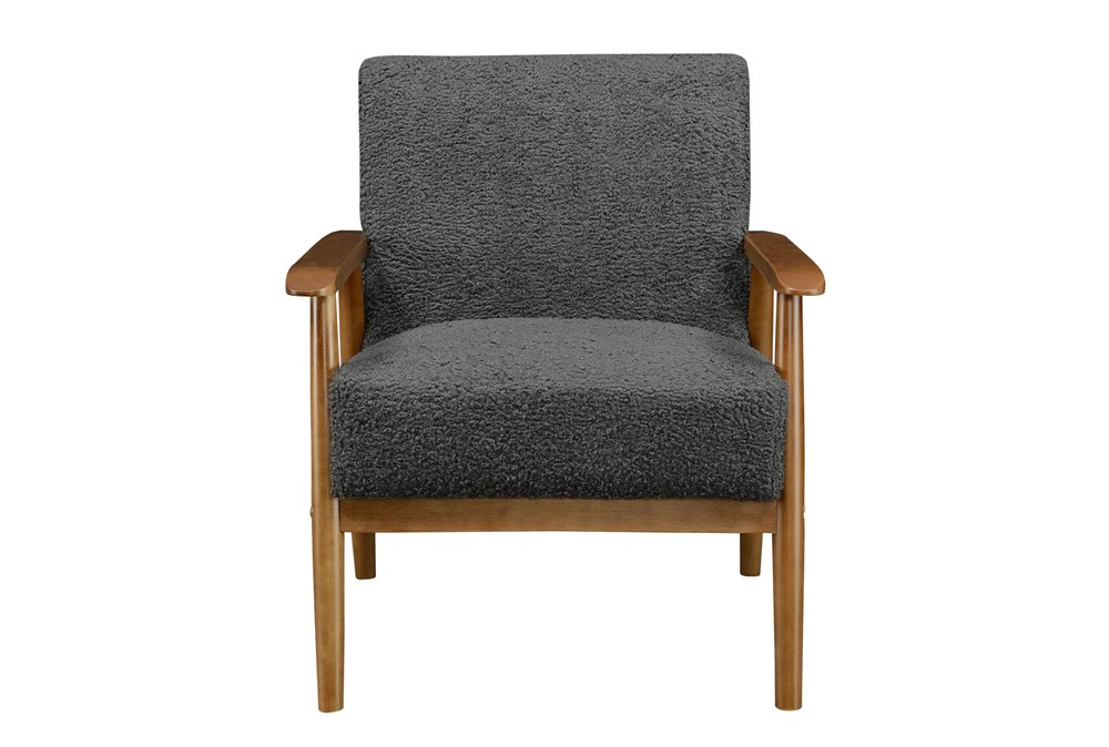 Miriam Charcoal Accent Chair