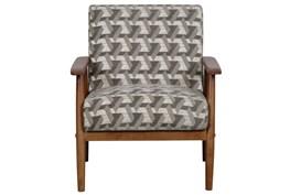 Miriam Prism Print Accent Chair