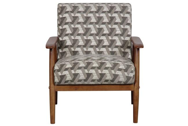 Miriam Prism Print Accent Chair - 360