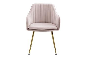 Nancy Blush Velvet Accent Chair