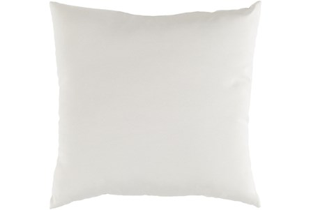 Outdoor Accent Pillow-Beige Solid 20X20 - Main