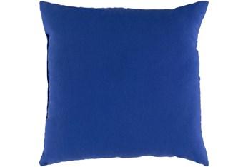 Outdoor Accent Pillow-Dark Blue Solid 19X13