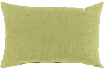 Outdoor Accent Pillow-Lime Solid 20X13