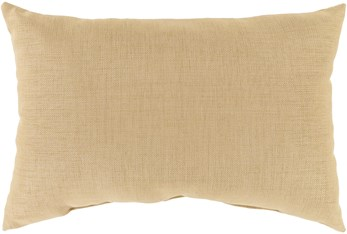 Outdoor Accent Pillow-Wheat Solid 20X13