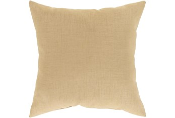 Outdoor Accent Pillow-Wheat Solid 18X18