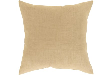 Outdoor Accent Pillow-Wheat Solid 22X22 - Main