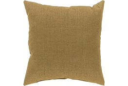 Outdoor Accent Pillow-Tan Solid 22X22