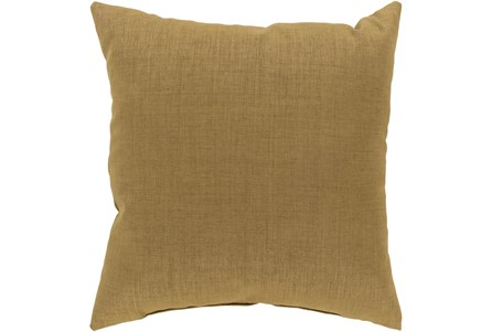 Outdoor Accent Pillow-Tan Solid 22X22 - Main
