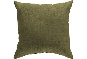 Outdoor Accent Pillow-Grass Green Solid 18X18