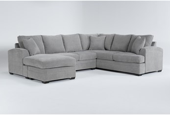 Cortez Ash 2 Piece Sectional With Left Arm Facing Chaise