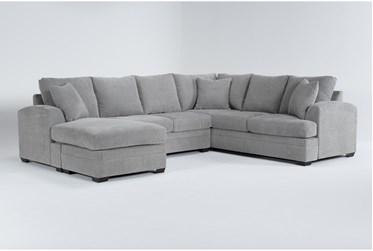 """Cortez Ash 126"""" 2 Piece Sectional With Left Arm Facing Chaise"""