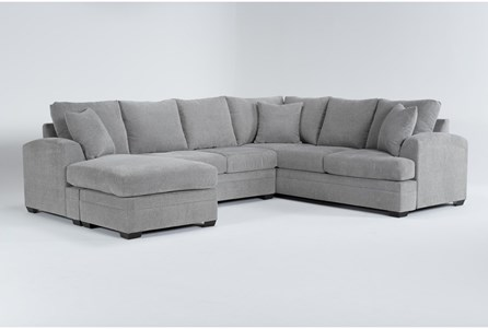Cortez Ash 2 Piece Sectional With Left Arm Facing Chaise - Main