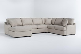 """Esteban 139"""" 3 Piece Sectional With Left Arm Facing Chaise"""