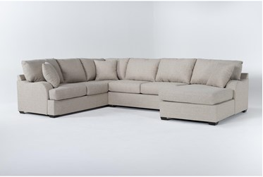 """Esteban 139"""" 3 Piece Sectional With Right Arm Facing Chaise"""
