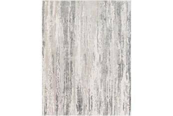 """7'8""""X10'3"""" Rug-Shades Of Grey Waterfall"""