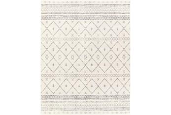"""7'8""""X10' Rug-White & Grey Global"""