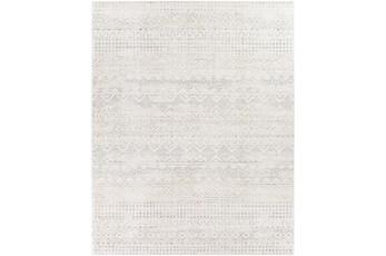 """7'8""""X10' Rug-Grey Geo Abstract"""