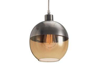 7.9X9.8 Amber Glass Shade Pendant