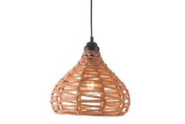 11.8X12 Woven Bell Shaped Pendant