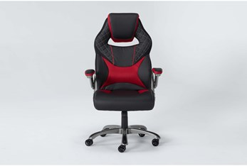 Beta Gaming Chair With Red Accents