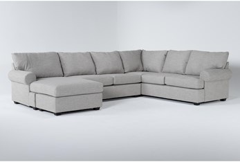Hampstead Dove 2 Piece Sectional With Left Arm Facing Chaise