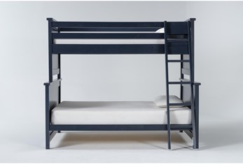 Mateo Blue Twin Over Full Bunk Bed