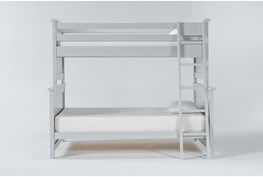 Mateo Grey Twin Over Full Bunk Bed