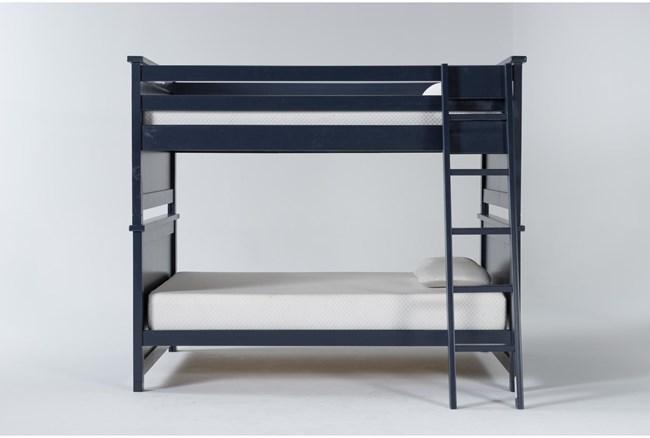 Mateo Blue Full Over Full Bunk Bed - 360
