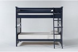 Mateo Blue Full Over Full Bunk Bed