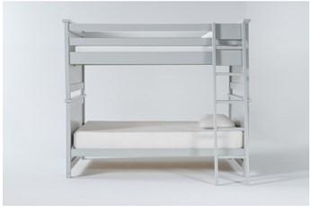 Mateo Grey Full Over Full Bunk Bed