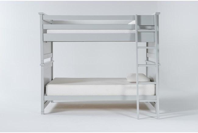 Mateo Grey Full Over Full Bunk Bed - 360