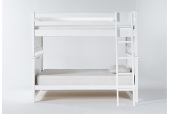 Mateo White Full Over Full Bunk Bed