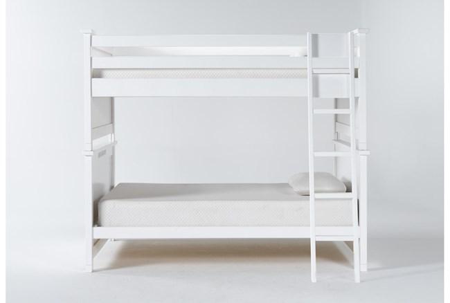Mateo White Full Over Full Bunk Bed - 360